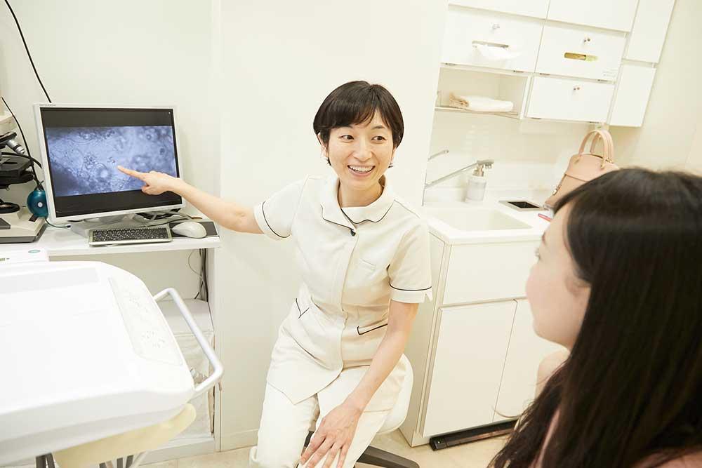 専属の歯科衛生士
